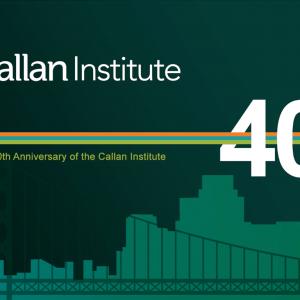 Callan Institute video background