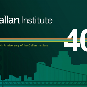 Callan Institute video background